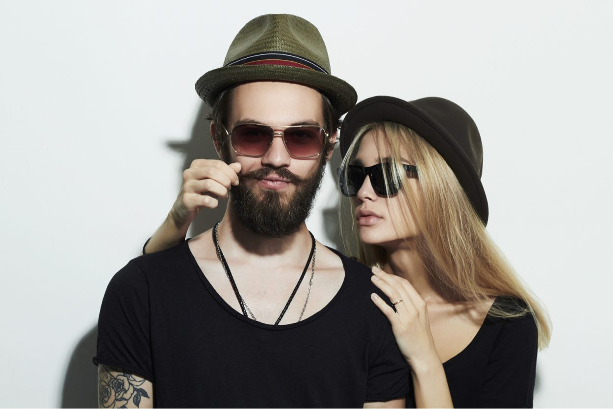 model couple, fashion model, catalogue model, male model, female model